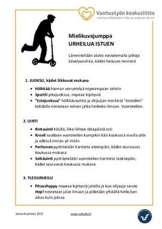 Tuolijumppa | Vahvike Occupational Therapy, Projects, Log Projects, Blue Prints, Occupational Therapist