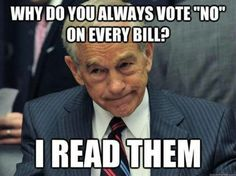 Yep... many of Obama's bills are like 1220+ pgs long. Who wants to read that? Eh... just pass it.