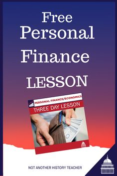 I wanted to offer you a free mini personal finance unit (3 days) that includes a recorded video lecture, Powerpoints with videos embedded, activities, guest speaker videos, and notes handout. I am making each mini-unit $5 each to make it super affordable! Use the code-free lesson to get it free!  Click here to get it now!-