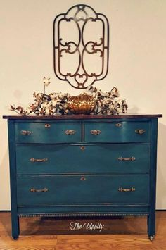 """Love your stains. Recently did a dresser in an Annie Sloan mix but the top is…"