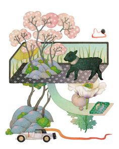 editorial illustrations 2015 - 2 on Behance y WHOOLI CHEN from TAIPEI ,TAIWAN