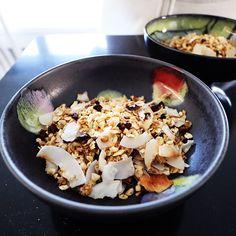 Granola, Acai Bowl, Breakfast, Food, Eggs, Acai Berry Bowl, Morning Coffee, Essen, Meals