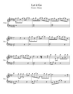 Let It Go  - a real link to FREE piano sheet music! (Had to find it after discovering my other Frozen pins were all spam). Girls will love dancing while I play!