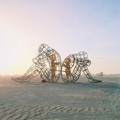 throwback to burning man + my favorite piece on the playa. this one had me…
