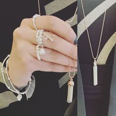 We love stacking our jewellery and we looove #chlobo #chlobojewellery Gorgeous sterling silver pieces in the store right now. Prices start at €45 guys #designers #irishboutique #odonnellboutique #irish #fashion #fblogger #irishblogger #blogger #style #stylist #jewelry
