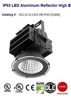150W-463W - 14,100-41,500 Lumens - Replaces 250W - 1000W HID #Color #Temperature: 4100K | 55000K Lumens: 14,100 - 41,800 Replaces: 400-1000W HID, depending on model selected Color Rendering Index (CRI): > 80 Rated Life: 50,000 hrs Working Voltage: 100-277 VAC | 347-480 VAC Warranty: 6 years