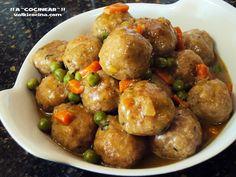 Albondigas, Spanish Food, Spanish Recipes, Ground Beef, Sandwiches, Cooking Recipes, Vegetables, Eat, Ethnic Recipes
