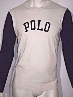 Polo Ralph Lauren men's jersey baseball size large NWT on sale  #PoloRalphLauren #GraphicTee