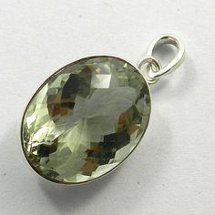 4.90GM, NATURAL AMETHYST gemstone solid 925 sterling silver pretty pendants #Handmade #Pendant