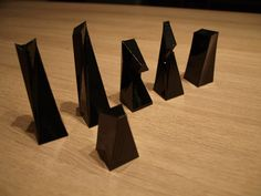3d printed modern chess