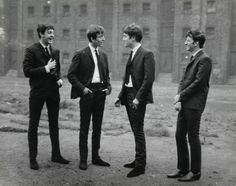 The Beatles; captured by Peter Kaye (1962)