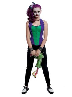 female joker u2026 | Crafts!  sc 1 st  Pinterest & female joker u2026 | Crafts! u2026
