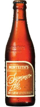 Monteith's Summer Ale. Tastes like honey. Nice summer beer just like they intended.