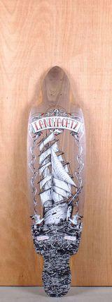 "Landyachtz 38"" Malahat Longboard Deck Bottom"