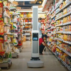 A shelf-scanning bot called Tally will help make sure everything is in its place in supermarkets and other retail outlets.