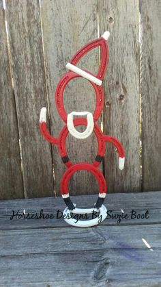 Horseshoe Santa Claus https://www.facebook.com/horseshoedesignssb/