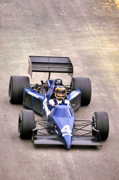 Stefan Bellof in the Tyrrell 012 - one of the last normally-aspirated cars to run under the 3.0 liter rules