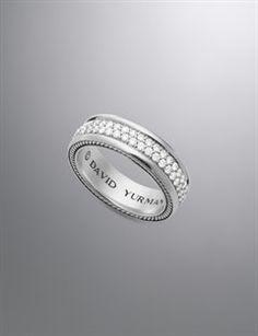 david yurman mens rings streamline ring diamonds 65mm gold and - David Yurman Mens Wedding Rings