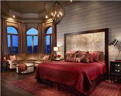 Contemporary (Modern, Retro) Bedroom by Laura Britt