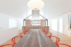Maison Glissade by Atelier Kastelic Buffey | Modernica George Nelson Saucer Lamp | http://modernica.net/saucer-lamp.html