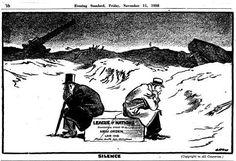 Cartoon: failure of the League