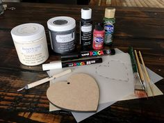 You can Folk It! Decorations on a budget - a great tutorial by Carol Sykes. Turn wallet friendly items into works of art!