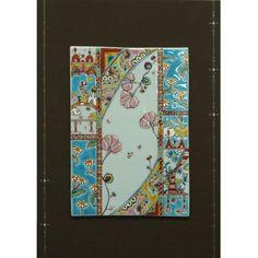 兼六ゆらさら 「花のタペストリー」 38000yen 新しい感性で創り上げた九谷焼パネル