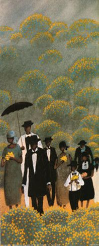 """The Funeral March"". Love this painting. I have it on my wall."
