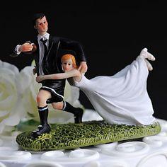 """toppers gâteau """"me porter avec vous"""" de gâteau figurine athlétique – USD $ 23.99"""