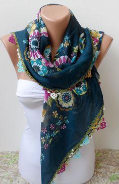 Yemeni scarf crochet scarf oya lace scarf Handmade by alamodescarf, $31.00