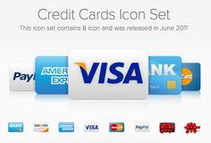 신용카드 아이콘 셑