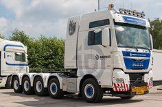 MAN TGX 52.560 10x4-6  Zwaartransport  Twan Bierings Maarheeze