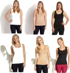I Buy This Tank Top for Every Actress I Dress -- and It's Made Right Here in Los Angeles (It Comes in Plus Sizes Too!) - xoJane http://www.xojane.com/clothes/karen-kane-worlds-best-tank-top