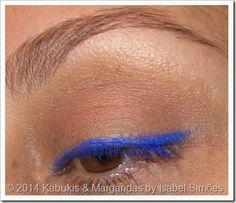 Lápis Kajal Skinny Fit da KIKO na tonalidade #4 Symphonic Blue.