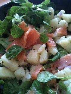 Salade d'inspiration Scandinave (Kaellie's World)