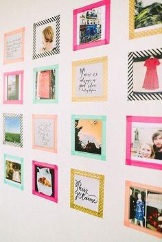 12 creative washi tape ideas for your workspace | Fox and Star Blog ✿⊱╮Teresa Restegui http://www.pinterest.com/teretegui/✿⊱╮