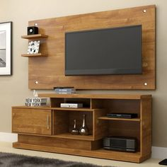 9 Cool Wooden TV Rack Design Ideas For Your Living Room 2 - tv unit
