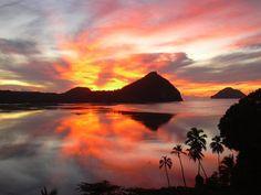 rotuma #sunset. #travel #fiji