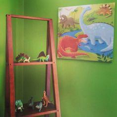 Nolans dinosaur room