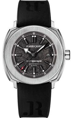 Jean Richard - Terrascope Grey Textured Dial