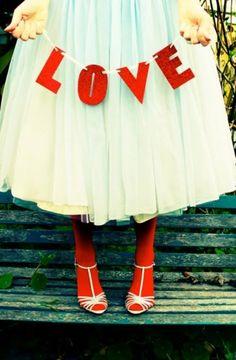 Red love... Inspiraties Voor Bruiloften, Valentijn Grappig, Valentijnideeën, Vriendjes, Bruiloft, Rood, Rood Turquoise, Hou Van Je, Rode Bruiloft