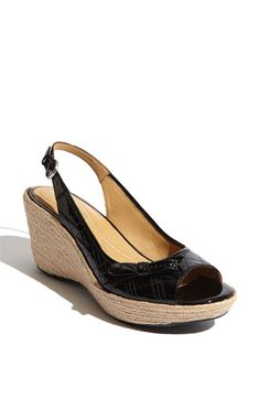 Naturalizer 'Nieva' Sandal ~ I really like this shoe, but I really wish it didn't have the silly bow on the side!