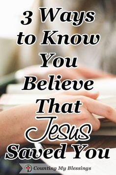 Three verses in the Book of John define what it means to believe that Jesus saved you. John 3:3, John 3:6, and John 3:16. Learn more here... #FaithinJesus #BibleStudy #CountingmyBlessings #BlessingBloggers #WWGGG Christian Women Blogs, Christian Faith, Christian Living, John 3 6, Christian Inspiration, Biblical Inspiration, Always Remember Me, Jesus Today, Asking For Forgiveness