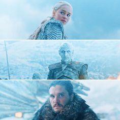 Game Of Thrones season 7 episode 6 [7.06] If only looks could kill ❄️ • #thesevenhells7x06 #Jonerys #nightking Jon Snow, Kit Harington, Daenerys Targaryen, Emilia Clarke