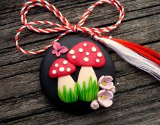 Cute Polymer Clay, Polymer Clay Pendant, Polymer Clay Charms, Polymer Clay Projects, Clay Crafts, Polymer Clay Jewelry, Biscuit, Polymer Clay Embroidery, Air Dry Clay