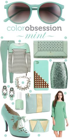 mint fashion - inspired for spring!