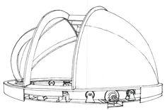 Observatorio Sierra Clara 2- esquema cúpula-Jose Antonio Pleguezuelo Hernandez - Álbumes web de Picasa