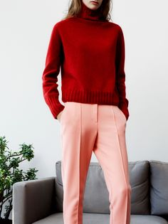roll neck - two colours that shouldn't go together