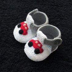 Crochet Baby Boy Boots DM for Details . Crochet Car, Crochet Boots, Crochet For Boys, Crochet Baby Booties, Baby Knitting Patterns, Crochet Patterns, Baby Boy Booties, Baby Boots, Baby Shoes Pattern