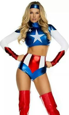 Captain america costume for girl http://spookyhalloweencostumes.org/halloween-costume/disguise-marvel-captain-america-fiercely-femme-sassy-american-dream-womens-adult-bustier-costume-redwhiteblue-medium8-10
